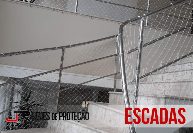 Serviços em Escadas | JR Redes de Proteção