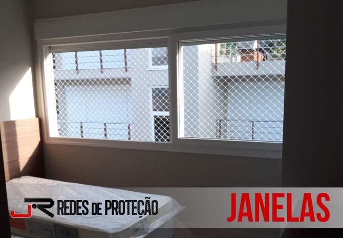 Serviços em Janelas | JR Redes de Proteção