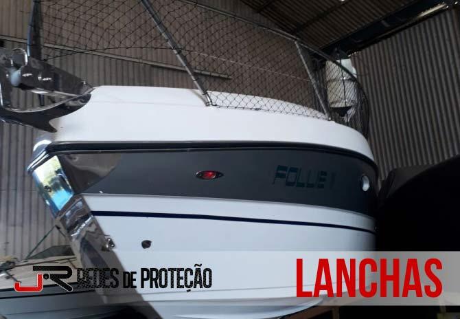 Serviços em Lanchas | JR Redes de Proteção